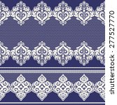 set of vintage lace borders.... | Shutterstock .eps vector #277527770