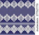 set of vintage lace borders.... | Shutterstock .eps vector #277527770