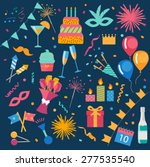 party and celebration design... | Shutterstock .eps vector #277535540