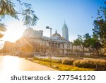 central alameda park  palace of ... | Shutterstock . vector #277541120
