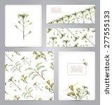 set of banners  pattern  blank  ...   Shutterstock . vector #277555133