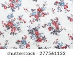 vintage style of tapestry... | Shutterstock . vector #277561133