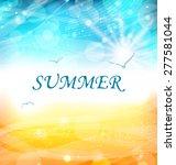 Illustartion Summer Holiday...