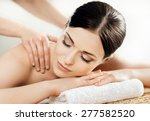 young and healthy woman in spa... | Shutterstock . vector #277582520