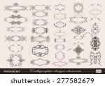 set of vector graphic elements... | Shutterstock .eps vector #277582679