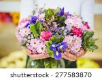 Florist Hands With Big Floral...
