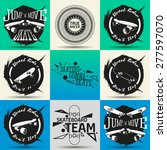 vector set of different labels... | Shutterstock .eps vector #277597070