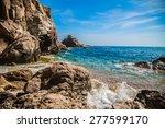 Wild Coast In Costa Brava.