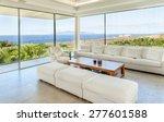 white living room in the modern ... | Shutterstock . vector #277601588