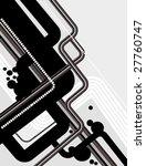 abstract tech background | Shutterstock .eps vector #27760747