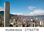 panoramic view of bogota ... | Shutterstock . vector #27762778