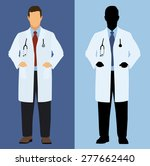 doctor in full color and... | Shutterstock .eps vector #277662440