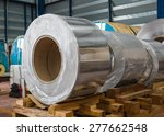 aluminium rolled products or... | Shutterstock . vector #277662548