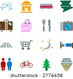 tourist locations icon set icon ... | Shutterstock .eps vector #2776658