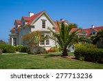 old house in presidio park  san ...   Shutterstock . vector #277713236