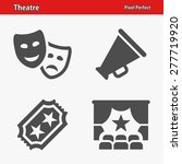 theatre icons. professional ... | Shutterstock .eps vector #277719920