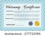 template warranty certificate.