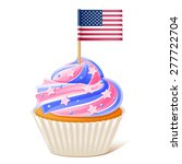 fourth of july. american... | Shutterstock .eps vector #277722704