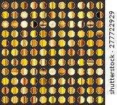 vector large set of 121... | Shutterstock .eps vector #277722929