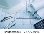 architectural project ... | Shutterstock . vector #277724048