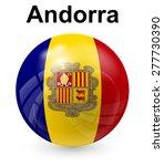 andorra official state flag | Shutterstock .eps vector #277730390