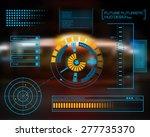abstract future  concept vector ... | Shutterstock .eps vector #277735370
