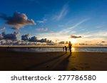 Sunset At The Beach In Phuket...