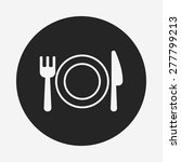 tableware icon | Shutterstock .eps vector #277799213