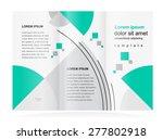 brochure design template... | Shutterstock .eps vector #277802918