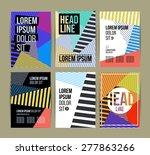 multipurpose brochure template...   Shutterstock .eps vector #277863266