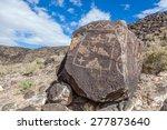 petroglyphs and prehistoric... | Shutterstock . vector #277873640