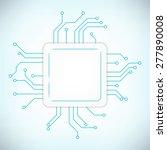 power processor. future... | Shutterstock .eps vector #277890008