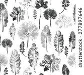 crazy beautiful imprint... | Shutterstock .eps vector #277897646