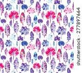 crazy beautiful imprint... | Shutterstock .eps vector #277897664