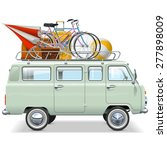 vector travel car | Shutterstock .eps vector #277898009