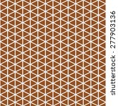 seamless pattern with abstract... | Shutterstock . vector #277903136