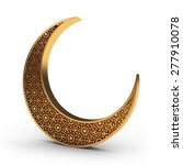 Arabesque Moon In Gold