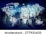 innovation inspiration... | Shutterstock . vector #277931420