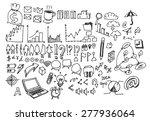 business doodles | Shutterstock .eps vector #277936064