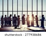business people conference... | Shutterstock . vector #277938686