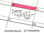 A Date Night Highlighted On A...