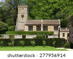 English Village Church With...