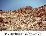 Close Up Of Reddish Rocks In...