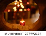 candle frame  romance... | Shutterstock . vector #277992134
