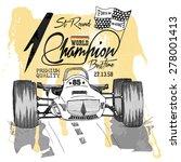 illustration vector handmade... | Shutterstock .eps vector #278001413