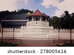 temple of the sacred tooth... | Shutterstock . vector #278005616