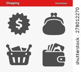 shopping icons. professional ... | Shutterstock .eps vector #278012270