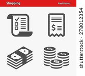 shopping icons. professional ...   Shutterstock .eps vector #278012354