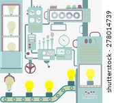 vector   industry creativity.... | Shutterstock .eps vector #278014739