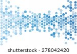 abstract hexagon | Shutterstock .eps vector #278042420